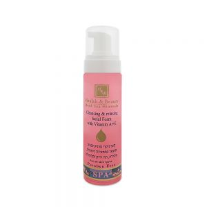 Cleansing & Relaxing facial foam with Vitamin A+E 225 ml