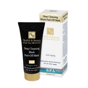 Deep Cleansing Black Peel-Off Mask with Hyaluronic acid and Charcoal 100 ml