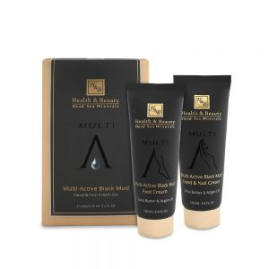Multi-Active Black Mud Hand & Foot Cream Set